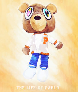 The Life of Pablo Dropout Bear