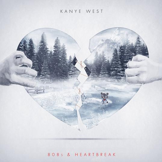 Kanye West – 808s and Heatbreak Poster